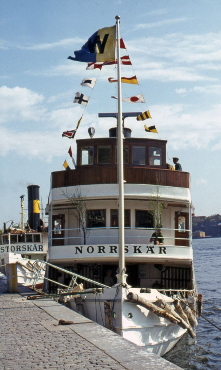[Text på diaram:] NORRSKÄR W 1969 W