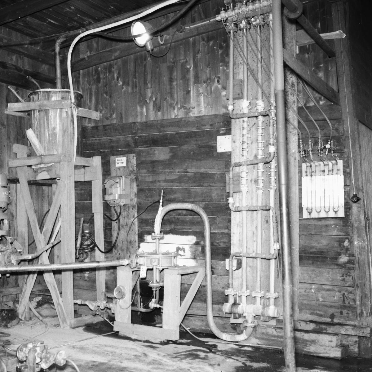 Övrigt: Ångpannedetaljer, provanläggning, bakom artelleriverkstaden