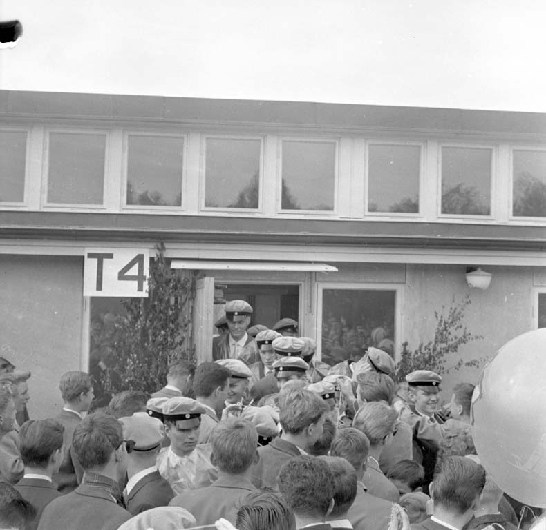 Realexamen vid parkskolan, 1960