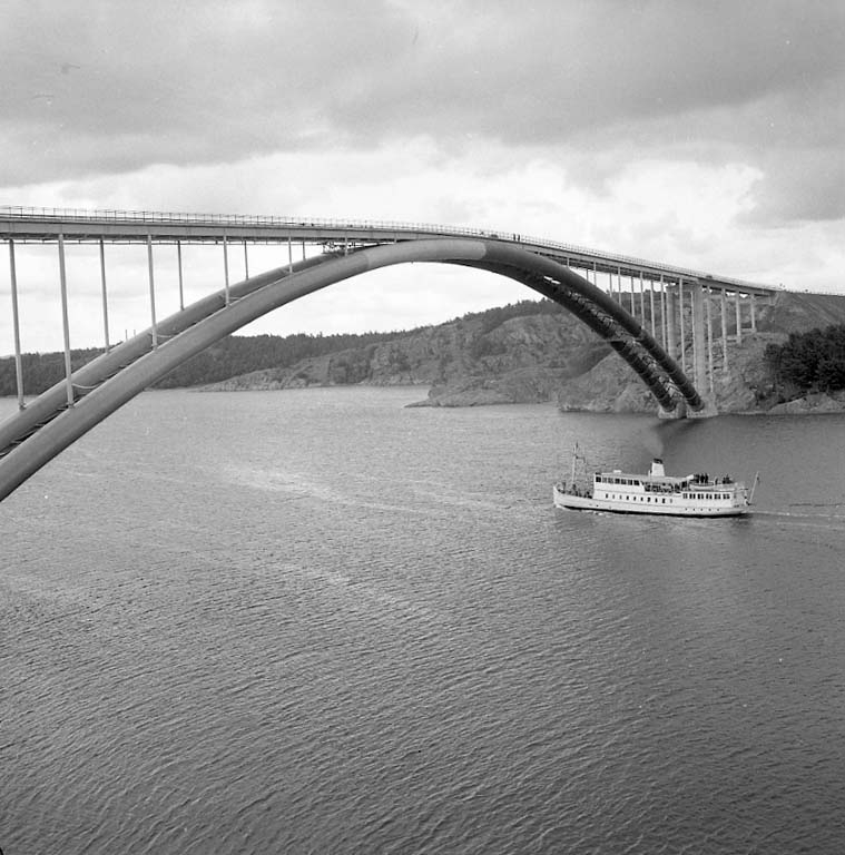 "Enligt notering: ""George Parkhurst under Tjörnbron Sept -60""."