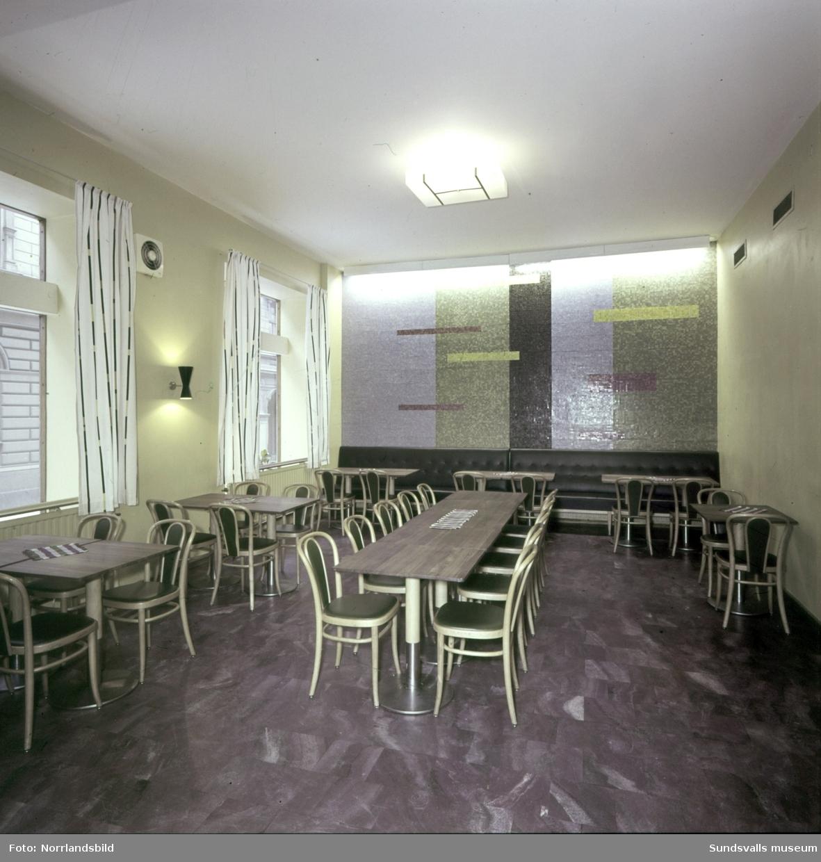 KPS Självservering, interiörbilder.