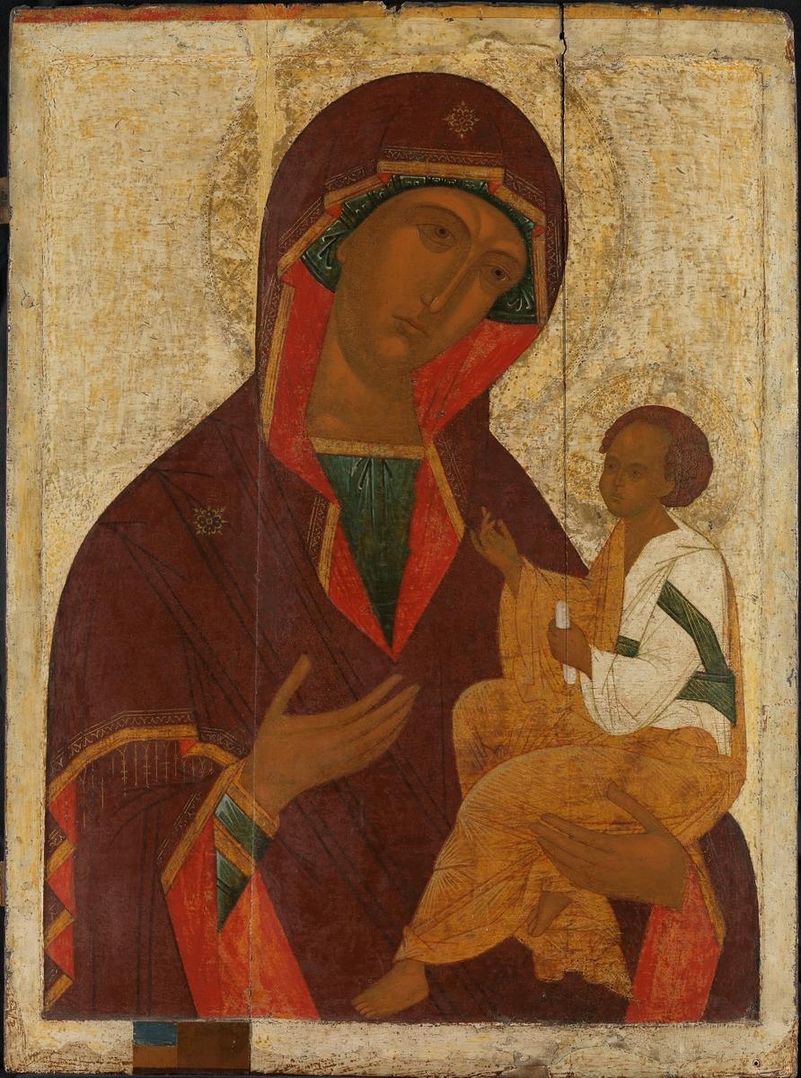 Den georgiske Guds Moder [Ikon]