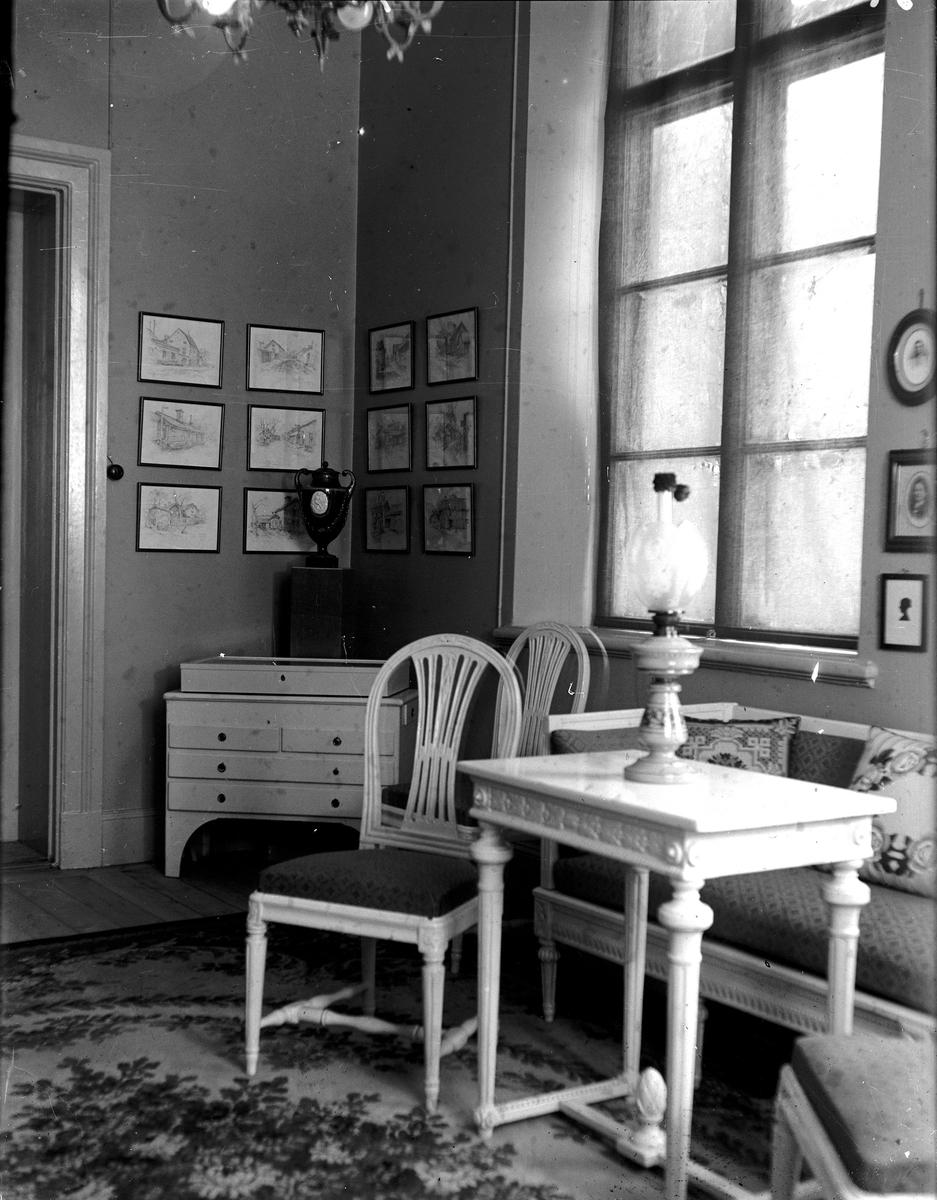 Museet: Dandernellska rummet. Fotograf KJ Österberg.