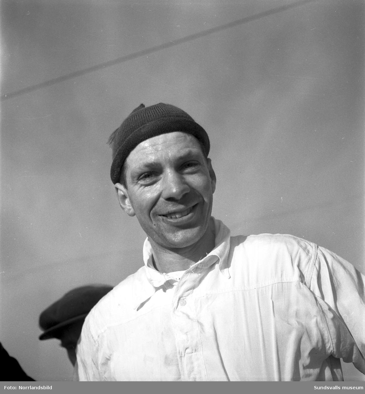 Skidåkaren Jack Hellgren, Erikslunds SK.