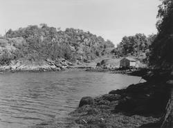 Prospektfotografi med to vinkler over Urvika ved Kiperberget