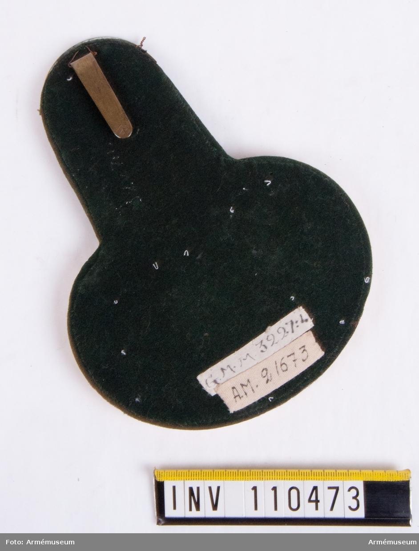 Epålett m/1816