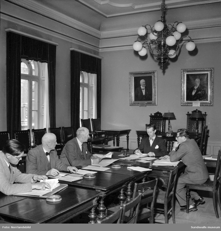 Kommunalarbetareförbundet träffade nytt avtal i Stadshuset.