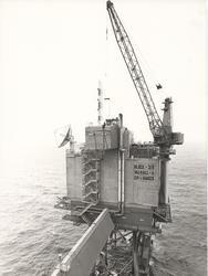 Valhall DP, med oppstart 17.desember 1981, hadde Norges førs