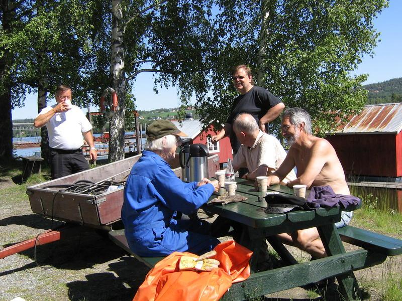 Pause for venneforeningens medlemmer (Foto/Photo)