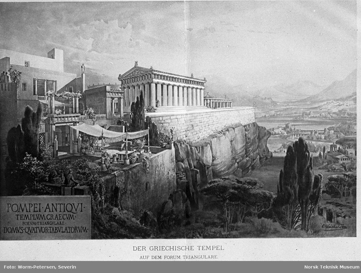 Pompei, tempel