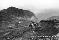 Ved bygging av Panamakanalen