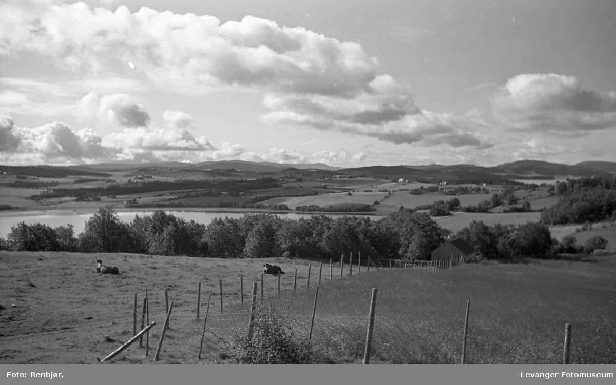 Utsikt fra Lillemarken mot Eidsbotn.