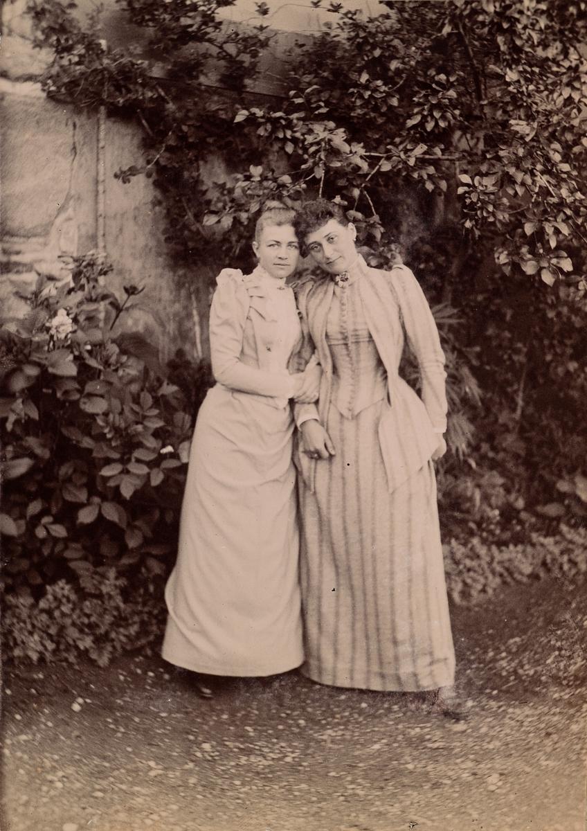Agnes Mathiesen og Louise Maurer.