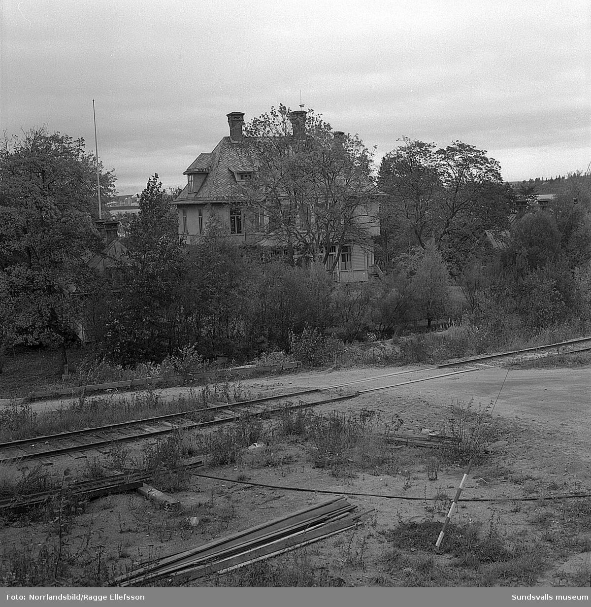Den gamla disponentbostaden i Skönvik, även kallad Skönviks herrgård.