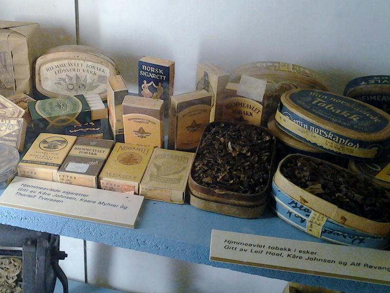 Hjemmeavlet tobakk fra 2. verdenskrig