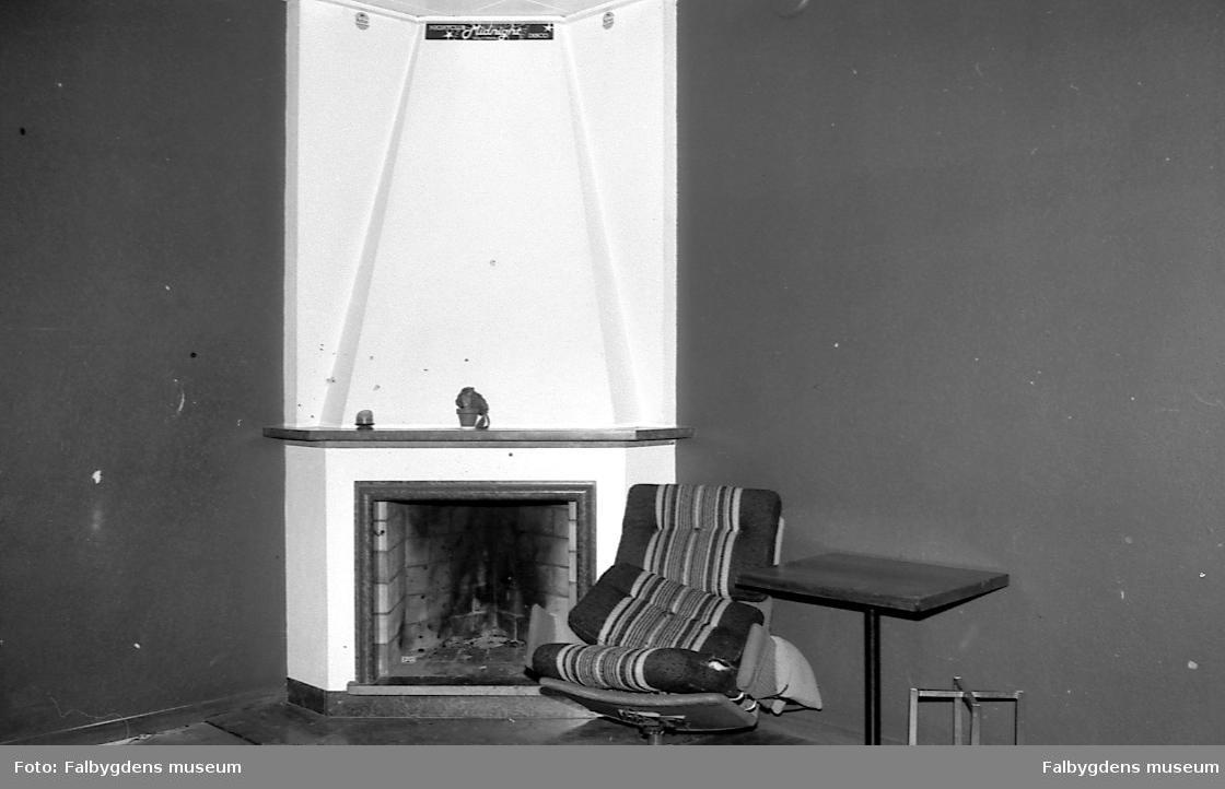 J.A. Forss hattfabrik. Sällskapsrum, f.d. konferensrum (rum 217).Fotona tagna vid inledningen av ombyggnaden till bostadshus.
