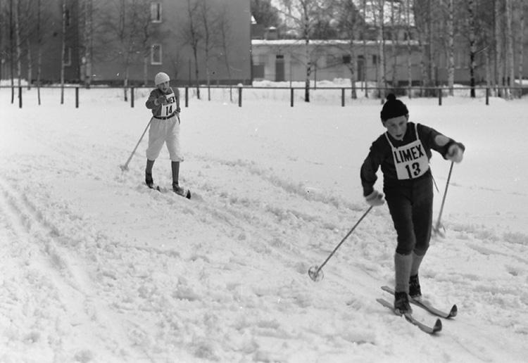 DM på skidor i Hällefors, skidtävling.