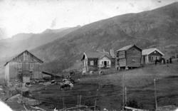 Garden Langehaug, 54.8, i Hemsedal, ca..1910