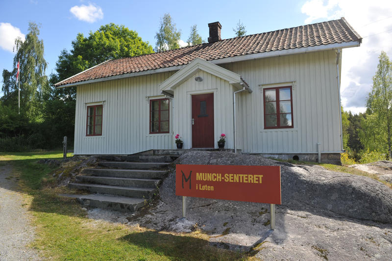 The Munch centre in Løten.