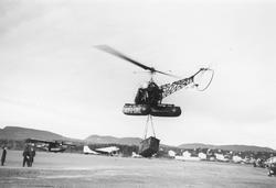 Helikoptertransport utført av Scancopter-Service A/S