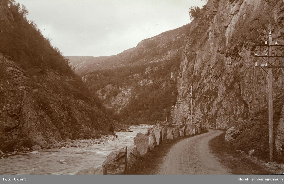 Landevegen i Drivdalen