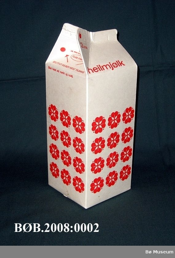 2 liters mjølkekartong