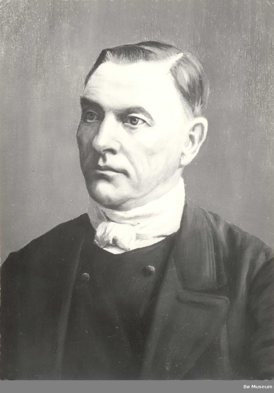 Foto av måleri av Halvor H. Opdal i Bø