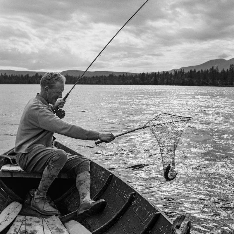 Sportsfiske fra båt Photoshop