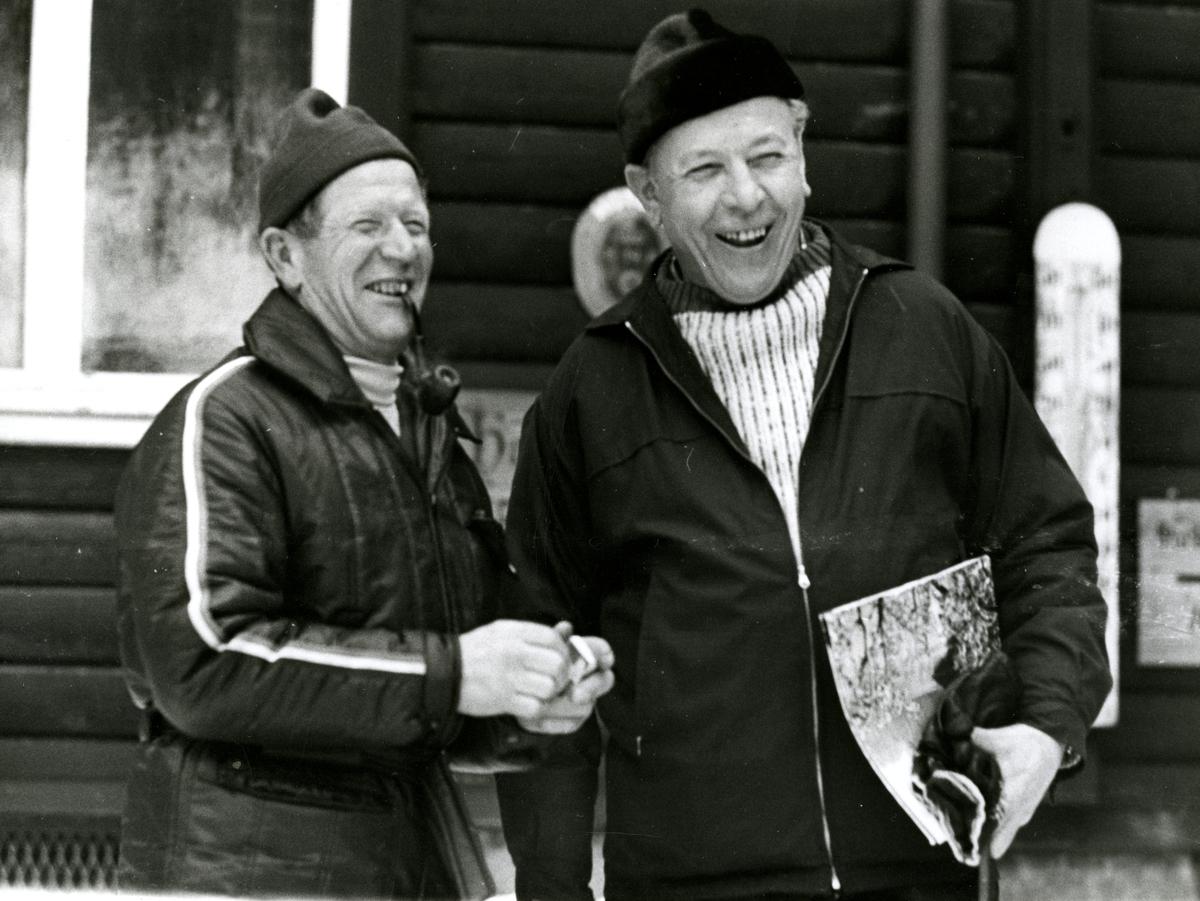 Skiing legend Birger Ruud visiting