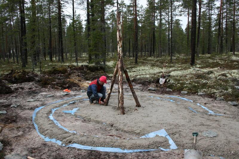 Rekonstruksjon av kølmile 1 (Foto/Photo)