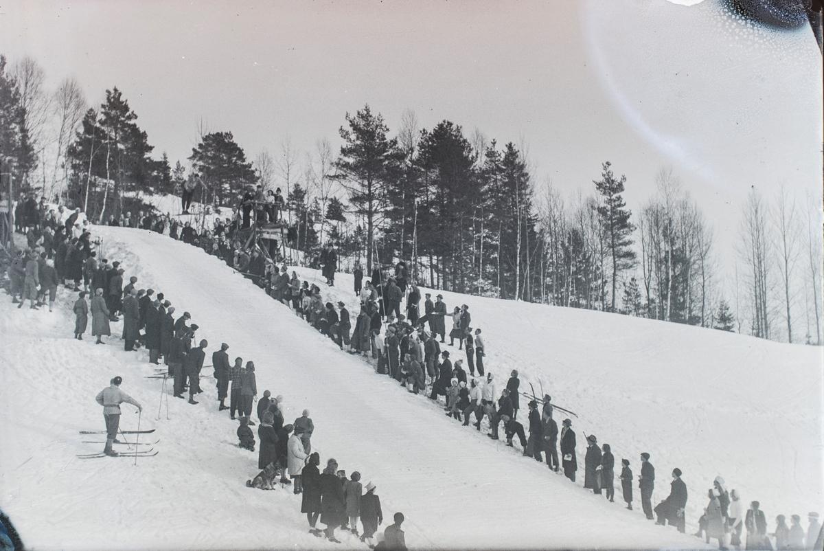 The Persløkka ski jump at Kongsberg