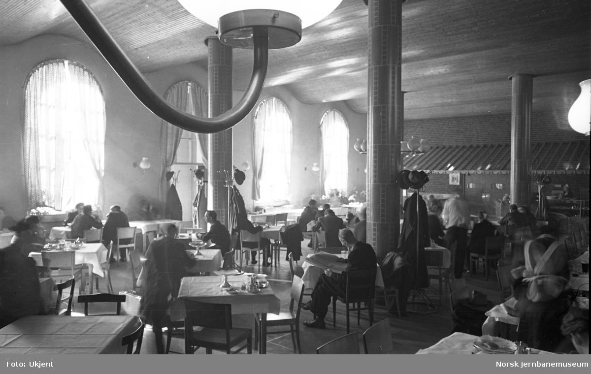 Oslo Ø, jernbanerestauranten