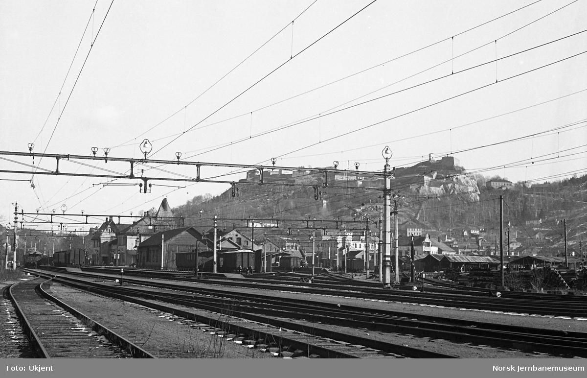 Halden stasjon, oversiktsbilde