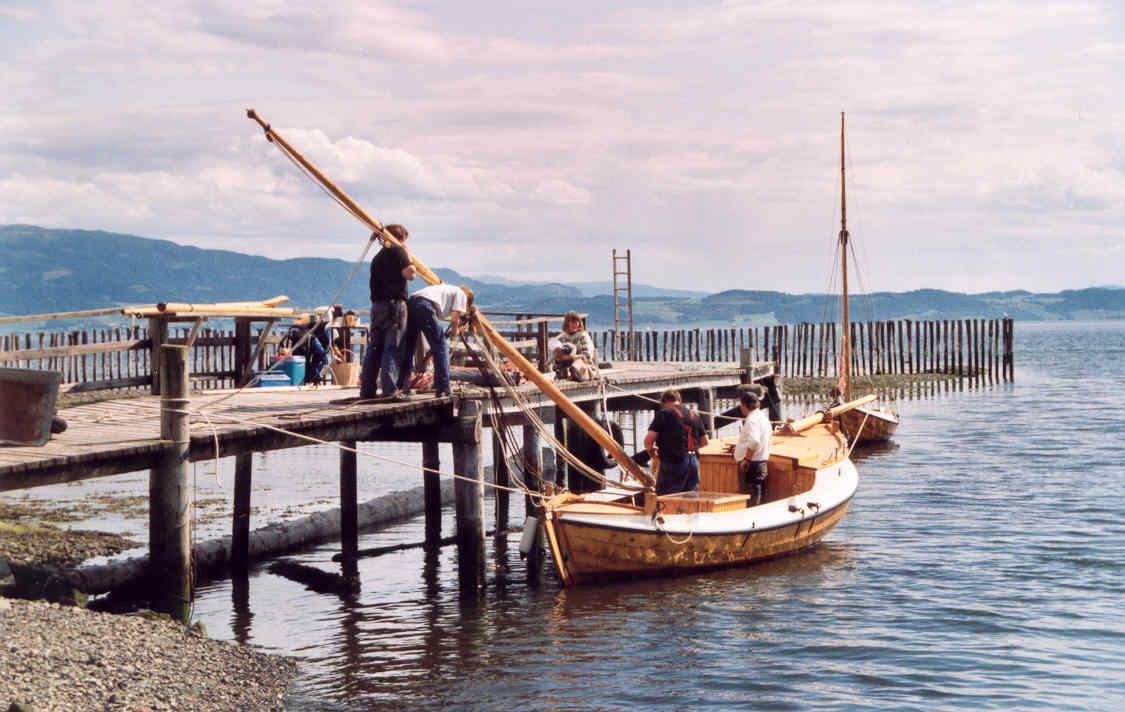 Listerbåten Bjørg, bygd i 2004. (Foto/Photo)