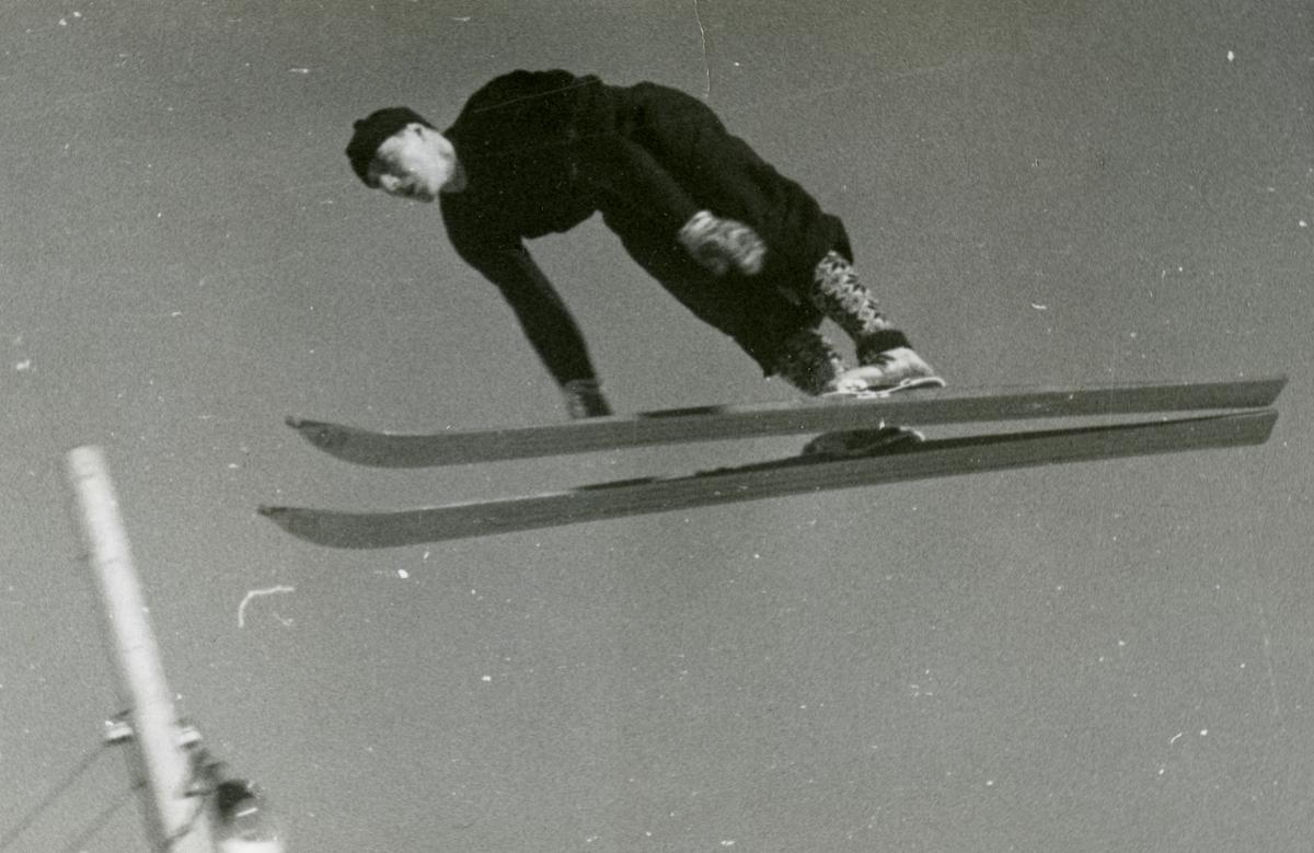Norwegan athlere in action at Garmisch