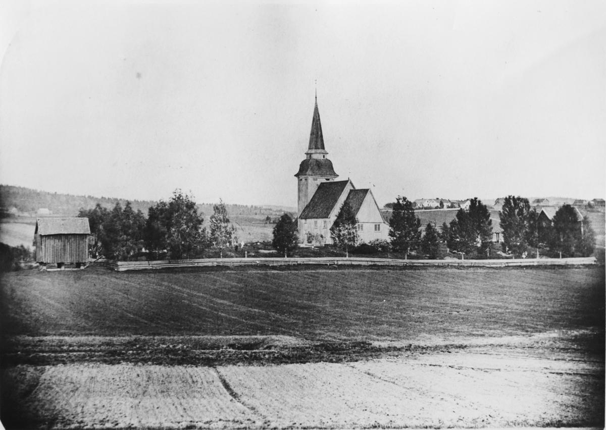 Gamle Løken kirke (i dag revet)