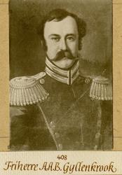 Porträtt av A.A.B. Gyllenkrook.