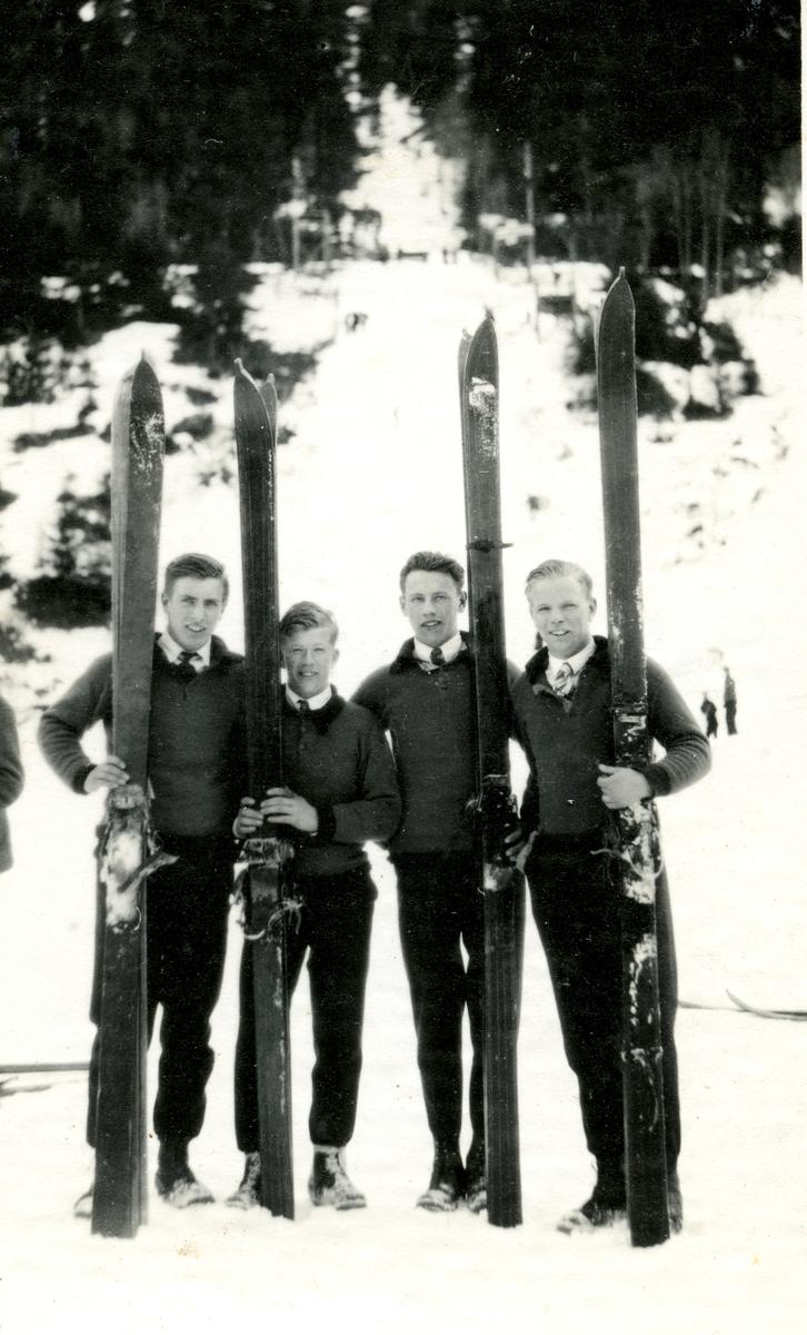 Kongsberg skiers in Telemark