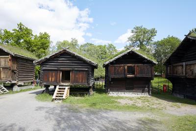 Hallingdalstunet på Norsk Folkemuseum. Foto/Photo