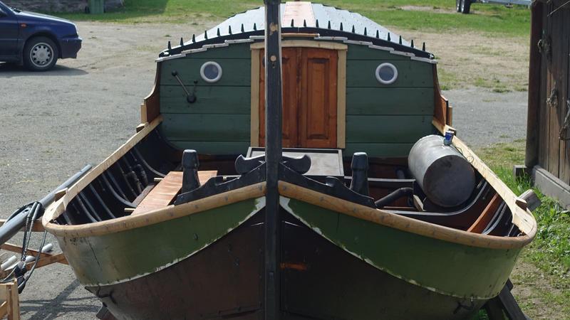 Vengbåten Skarven klar for nye eventyr. (Foto/Photo)