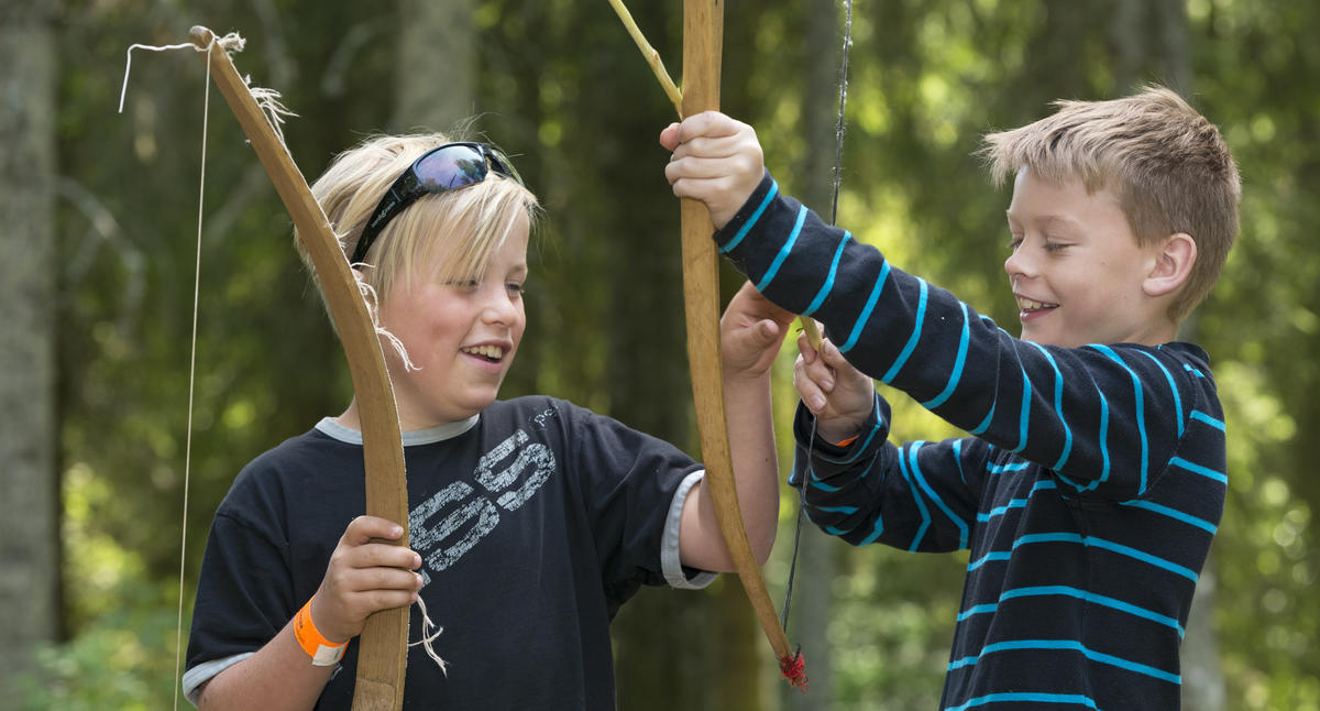 Bueskyting under Skog og Vann på Norsk Skogmuseum 9/6 2016