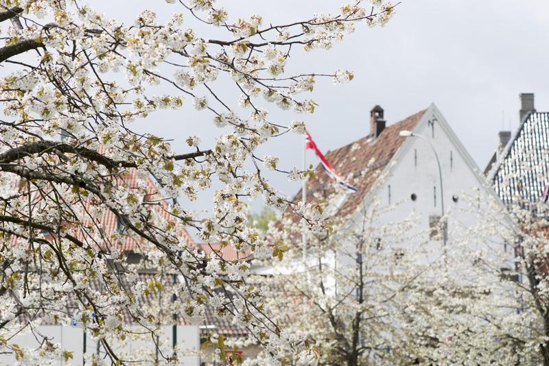 Hovedinngang til Norsk Folkemuseum