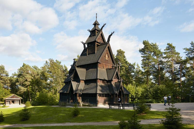 Stavkirke på Norsk Folkemuseum