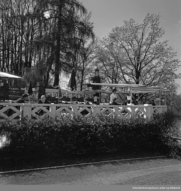 Frognerparken Café..Ca. 1965.