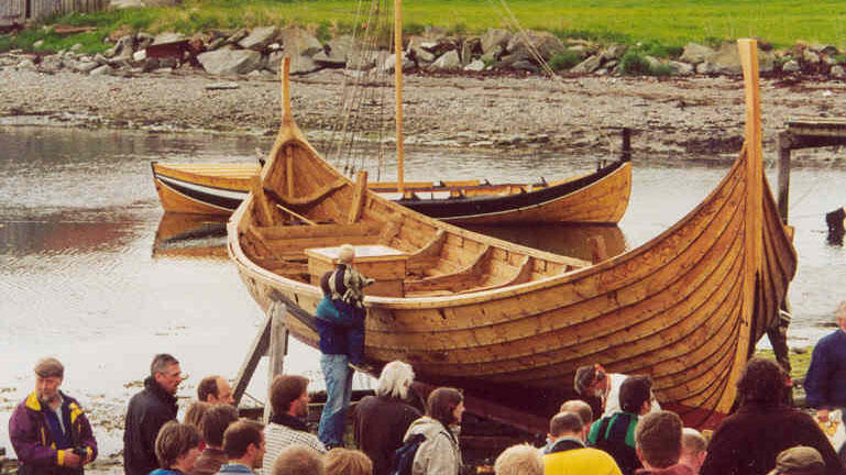"The viking sip ""Visund""."