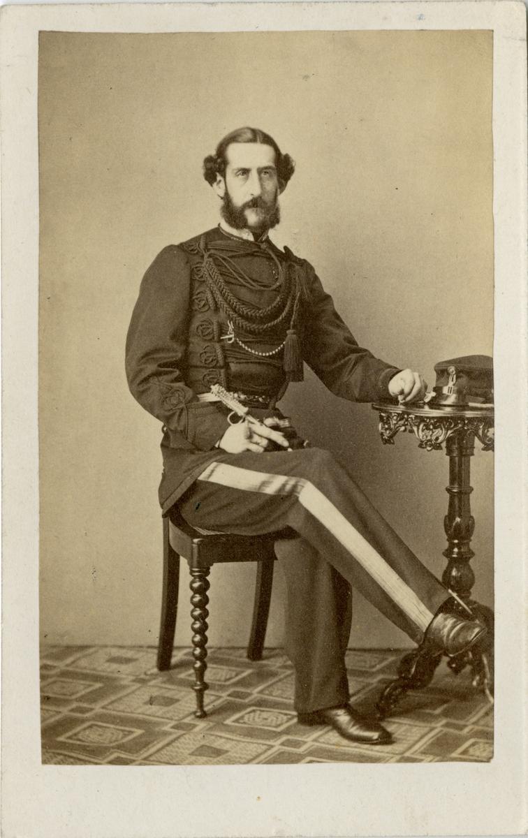Porträtt av prins August, hertig av Dalarna.