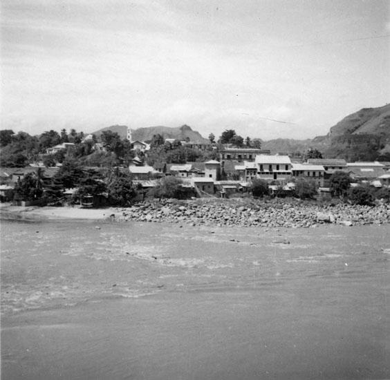Del av (Honda) vid stranden av Magdalena. Julen 1934
