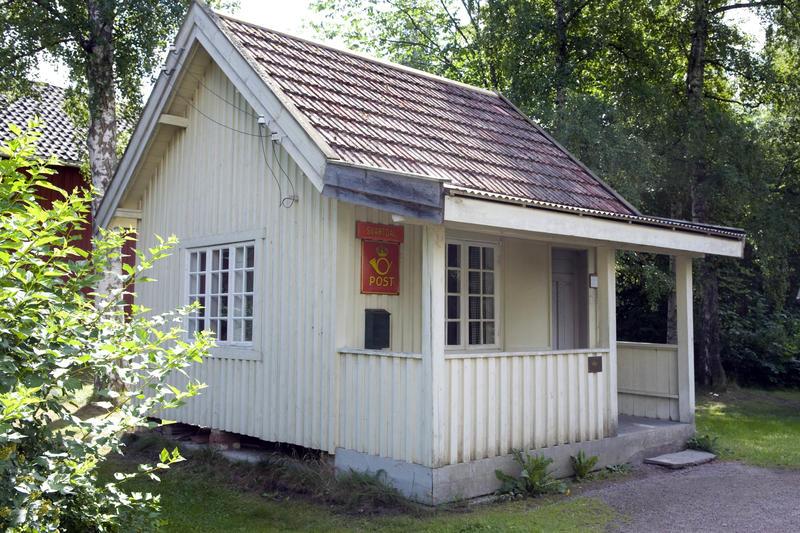 Posthus fra Svartdal i Telemark