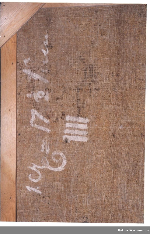 Tapet - Kalmar läns museum / DigitaltMuseum : tapet väv : Inredning
