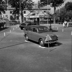 Ivar Petterssons bilverkstad, som låg på Rådhusgatan 39, pro